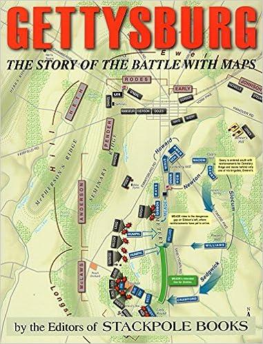 Gettysburg The Story Of The Battle With Maps David Reisch David M - Gettysburg-on-us-map