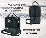 AUMTISC Ski Bag Padded 2 Piece Ski and Boot Bag