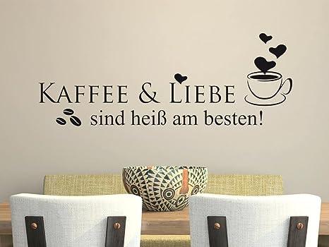 GRAZDesign Wandtattoos Küche Esszimmer Kaffee und Liebe ...