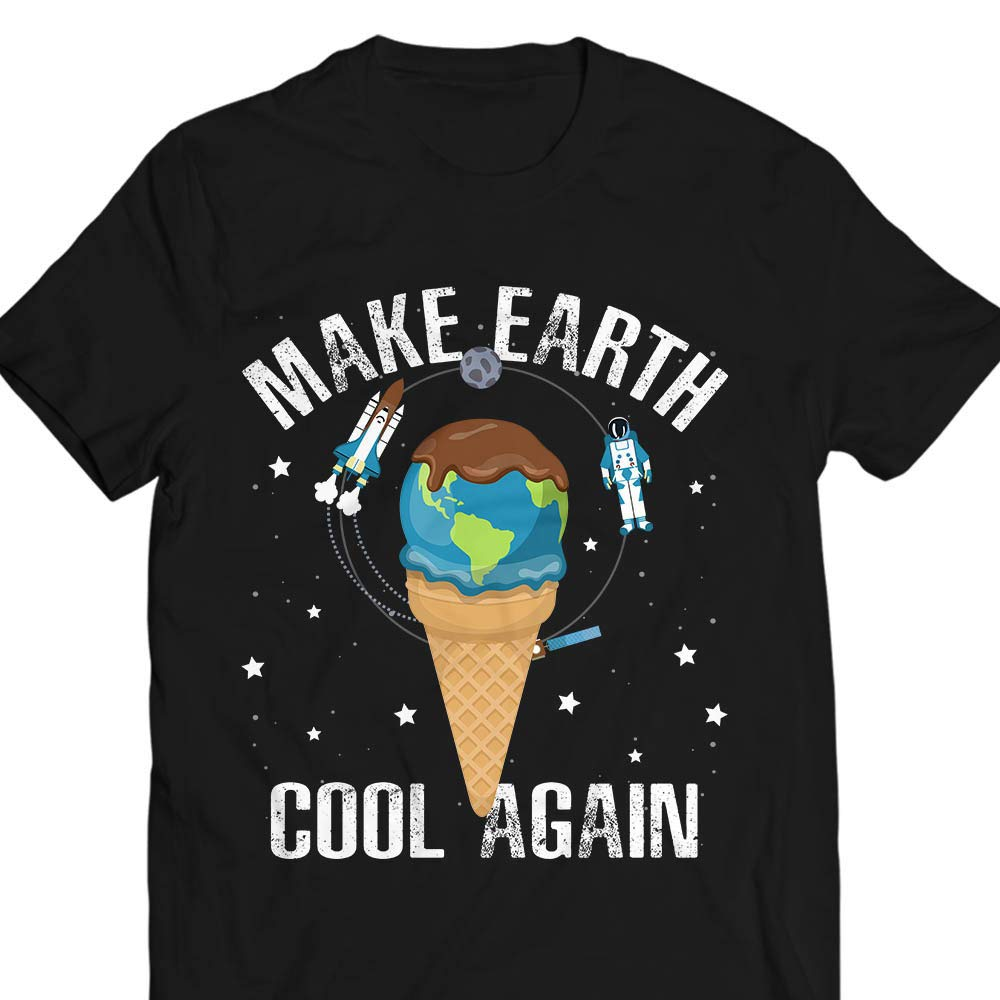 Makeearthcoolagain Earthday2019 Warming Savetheearth Customized Handmade Sweater Shirts