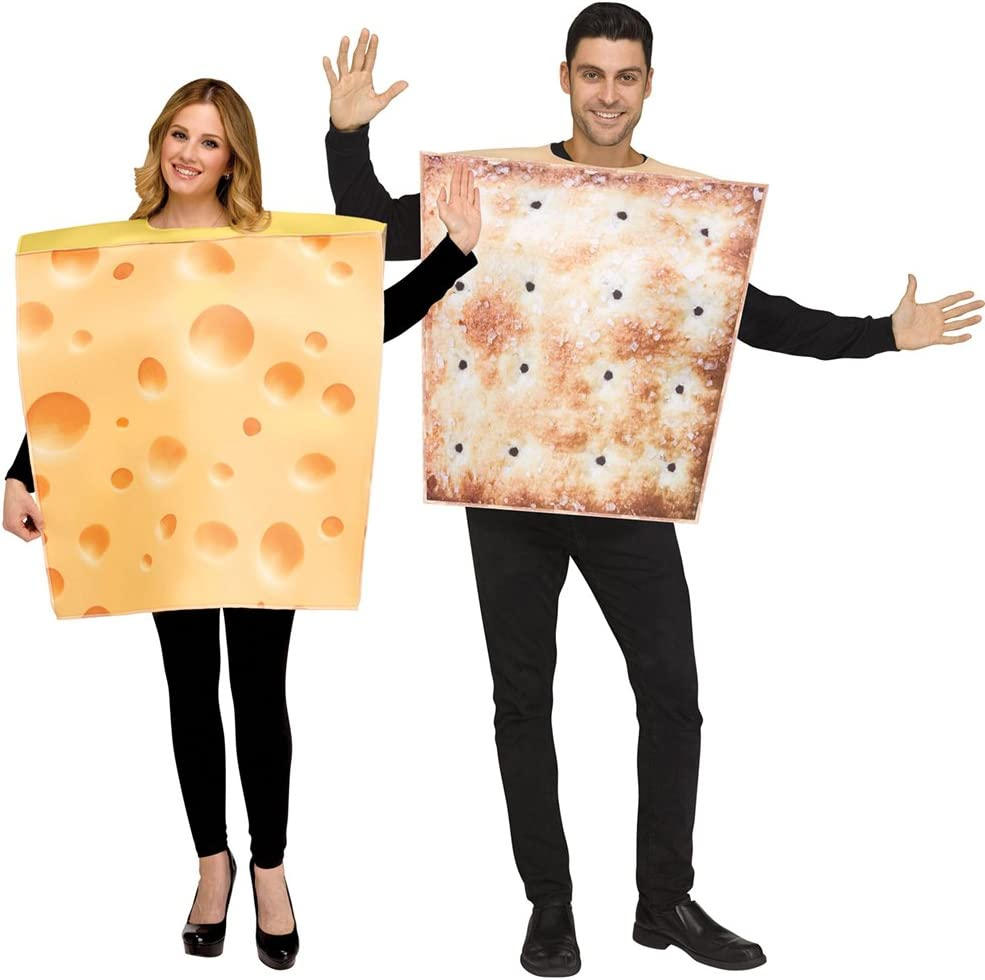 Cheese and Cracker Costumes for Couples
