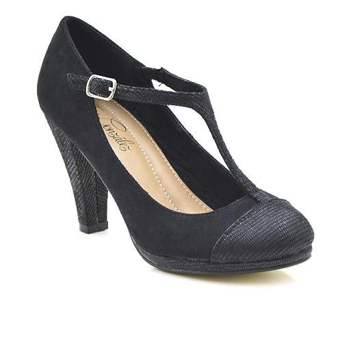 Gonzalez es Mujer Tino Negro 40Amazon Jordana Zapatos SqUMGzVp