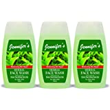 Jennifer's Face Wash Herbal 3 X 100 ml, Pack of 1