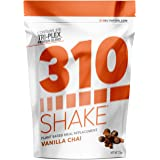 Vanilla Chai Meal Replacement | 310 Shake Protein Powder is Gluten and Dairy free, Soy Protein and Sugar Free | Includes Free Recipe eBook | 28 Servings