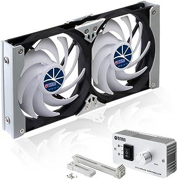 Titan TTC-SC09TZ - Ventilador de refrigerador: Amazon.es: Coche y moto