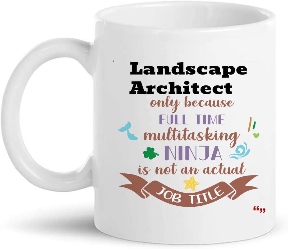 Not Applicable La Mejor Taza de Arquitecto paisajista Taza de café de 11 oz - Regalo de Arquitecto paisajista Regalos Personalizados para Hombres Camisetas de Mujer Tazas Tazas