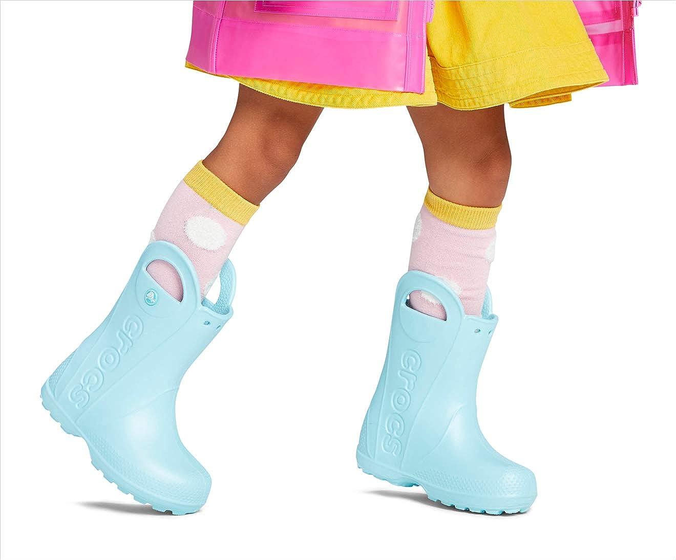 Crocs Unisex-Child Handle It Rain Boot Rain Shoe