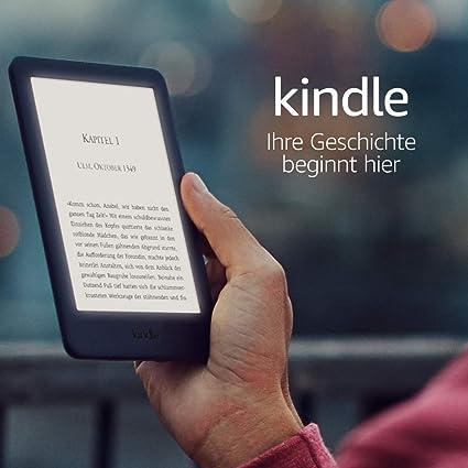 Kindle Jetzt Mit Integriertem Frontlicht Weiß Amazon Devices