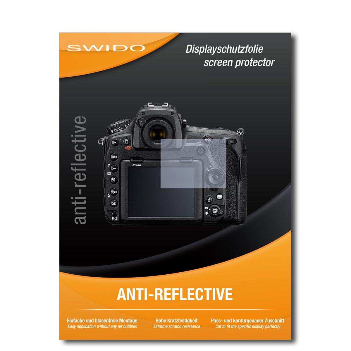 4 x SWIDO/® Protector de pantalla Nikon D850 Protectores de pantalla de pel/ícula AntiReflex antideslumbrante