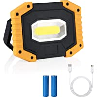 flintronic Foco LED Recargable COB Luz de Trabajo