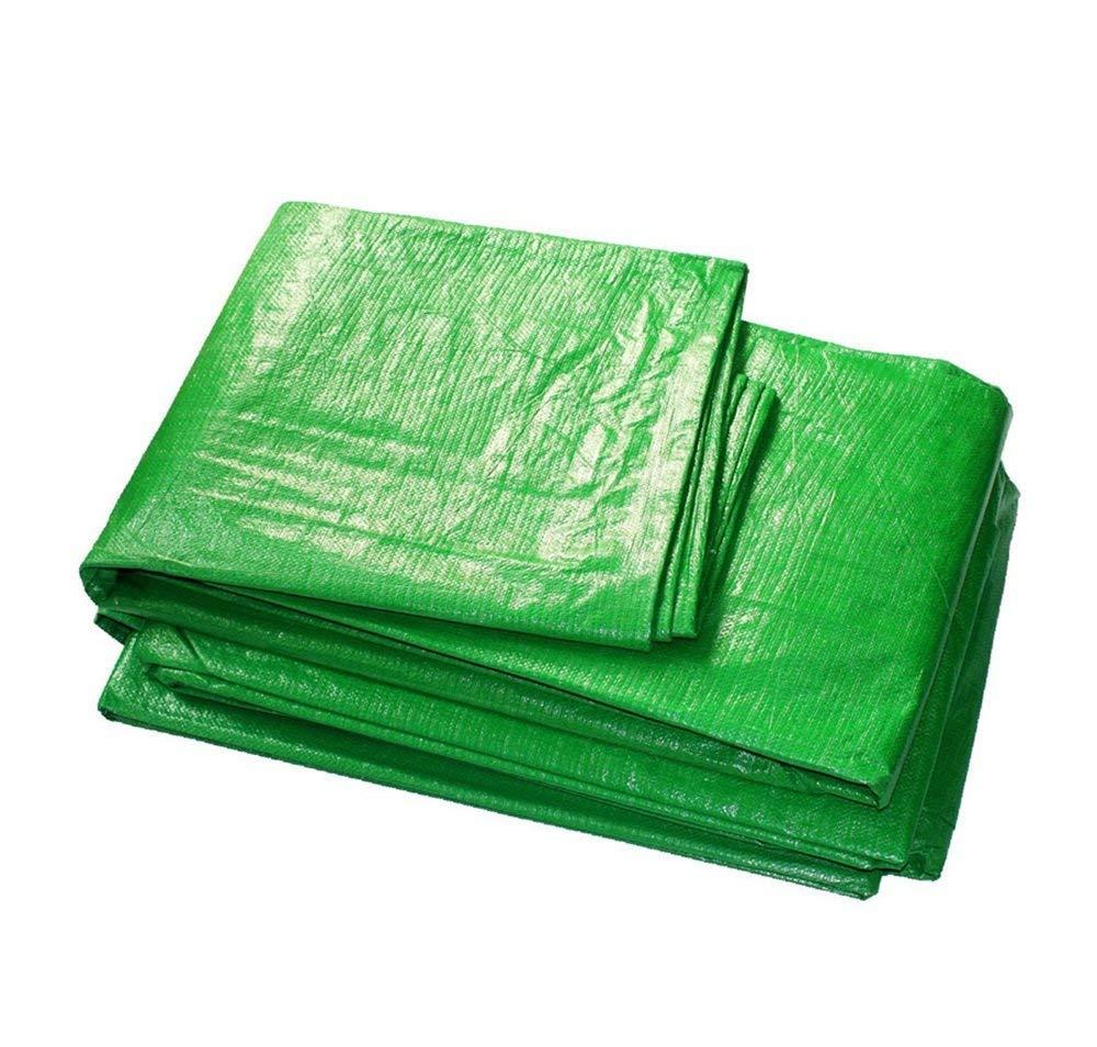 Spedizione gratuita al 100% JKL - - - Telone in polietilene Doppio per Esterni, 100% Impermeabile e Resistente ai Raggi UV, 140 g m2, Spessore 0,33 mm, colore  verde, 6X8M  negozio di sconto