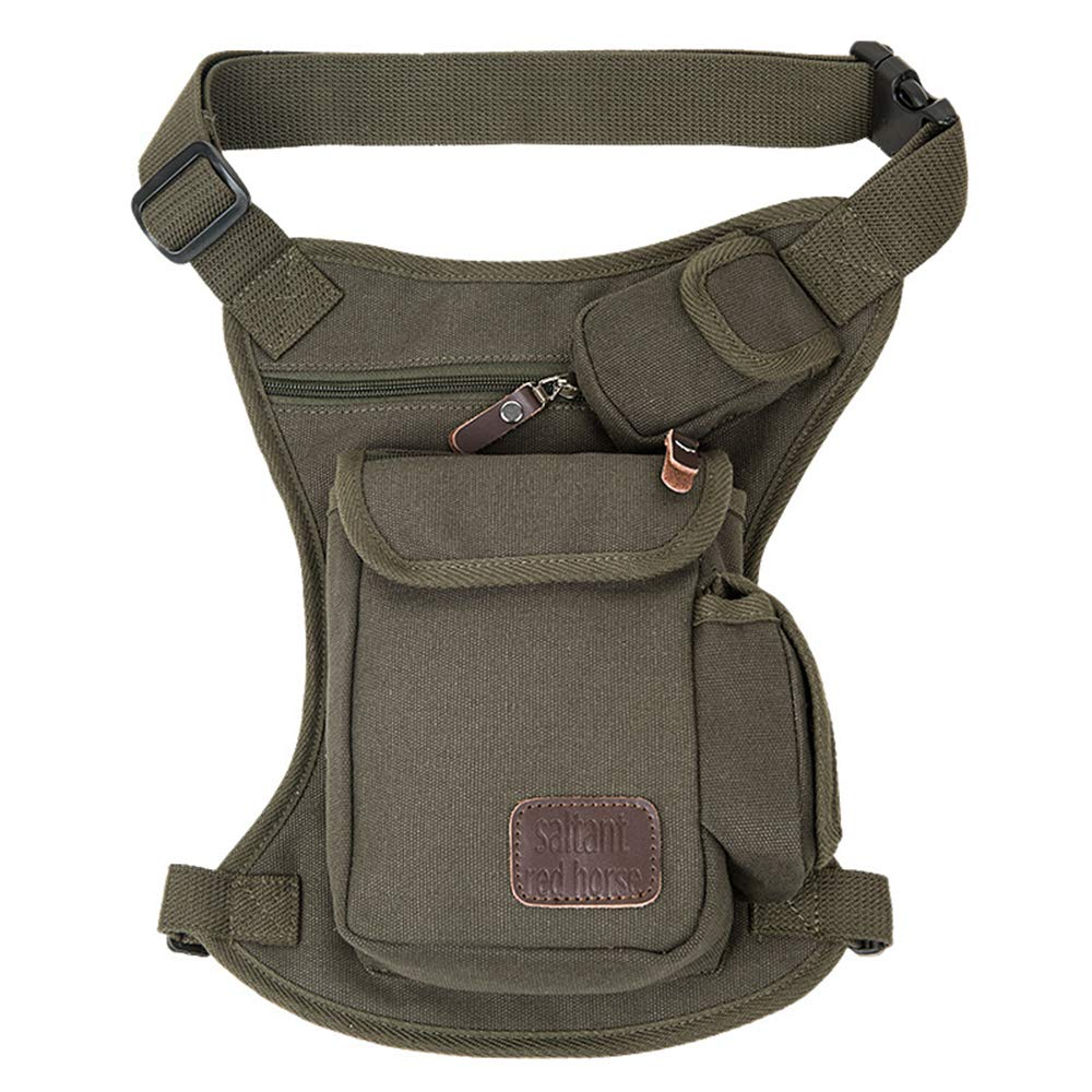 Fine Jewelry Fivelovetwo Small Canvas Multi-purpose Waist Fanny Pack Tactical Military Drop Leg Bag Camping Hiking Motorcycle Cycling Pouch Online Shop