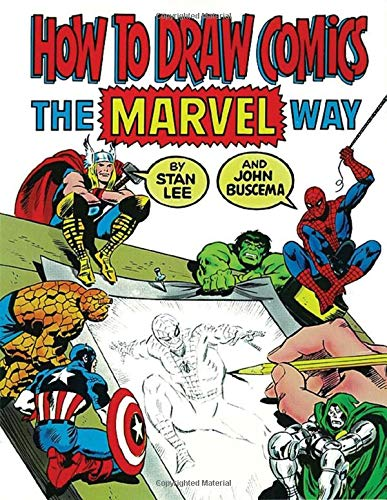 How To Draw Comics The Marvel Way from Touchstone