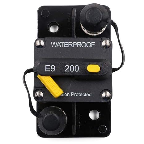 amazon com t tocas 200 amp circuit breaker with manual reset high