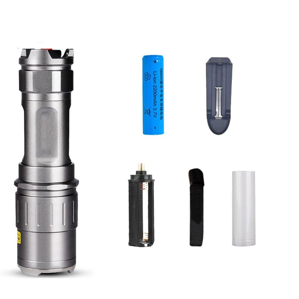 TLMYDD LED Super Helle Lade Mini-Taschenlampe Licht Multifunktions-Hause Im Freien Ferngespräche Taschenlampe (Ausgabe : A)