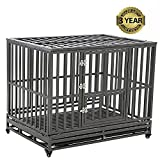 Best Heavy Duty Dog Crates - LUCKUP Heavy Duty Dog Cage Strong Metal Kennel Review