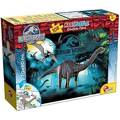 Lisciani 48670 Jurassic Cretaceous Puzzle Df Supermaxi 108 Pezzi