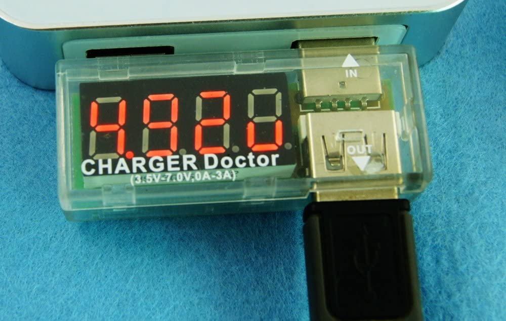 In-line Voltage and Current Meter USB Charger Doctor