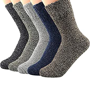 Womens Winter Wool Duck Boots Comfortable Socks Thermal