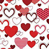 XOXO Valentine's Day Wrapping Paper - 40ft Roll