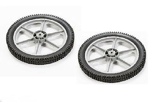 2pk) 180552 sustituye 151138 ruedas para Craftsman, Poulan ...