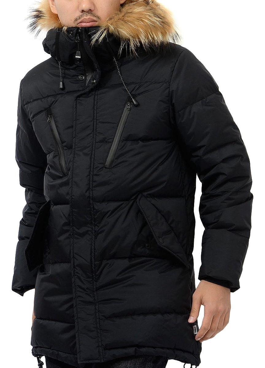 NANGA (ナンガ) AURORA HALF COAT オーロラハーフコート ブラック M B01N8TE45B