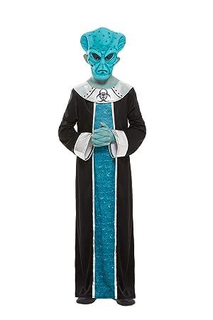 Smiffys 51019L - Disfraz de Alien para niños (talla L, 10-12 años ...