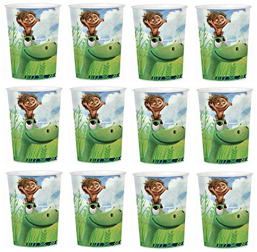 Disney Good Dinosaurs Arlo Lot of 12 16oz Party Plastic Cup ~Party Favor (Party Good Store)