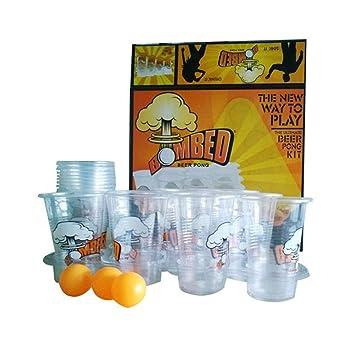Cerveza Pong Ultimate Torneo Kit Vasos Pelotas Set De Beer Pong