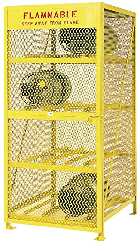 Meco Omaha CSC12H 12 LP Cylinder Horizontal Storage Cabinet, 70