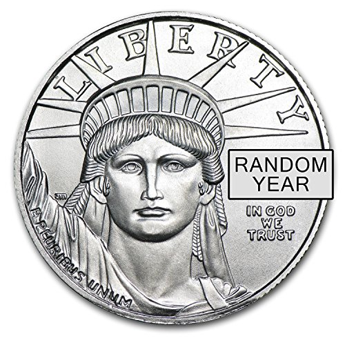1997 - Present 1/2 oz Platinum American Eagle BU (Random Year) 1/2 OZ Brilliant Uncirculated ()
