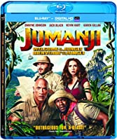 Jumanji: Welcome to the Jungle [Blu-ray] (Bilingual)