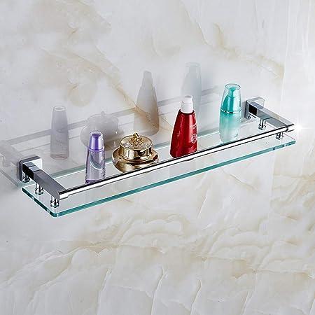 Mensole Di Vetro Per Bagno.Mensola Bagno In Vetro Ripiano In Vetro Temperato Completamente In