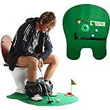 andux toilette mini golf set potty putter gioco di golf WC-01