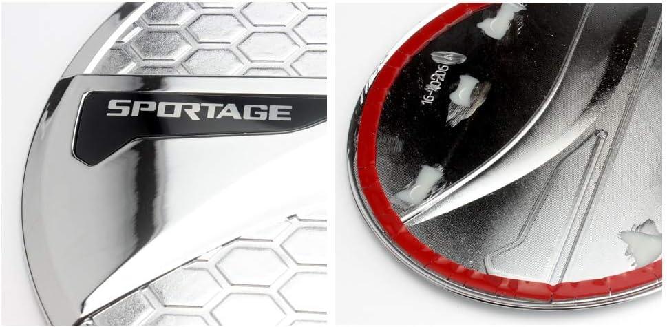 accesorios de estilismo Pegatina para la tapa del dep/ósito del coche para Sportage 4 decoraci/ón exterior