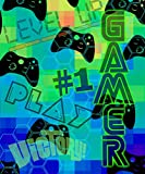Nu Trendz Signature ''Gamer'' Video Game Blanket Throw