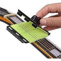 Ogquaton Guitarra de alta calidad Cuidado del bajo Limpiador Cuerda Limpiador Traste Diapasón Diapasón Eliminación de suciedad Almohadilla de limpieza Fácil Cuerda Limpieza Guitarra Suministros de m