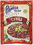 Pioneer Brand Chili Seasoning Mix, 1.25 Ounce (Pack of 12)