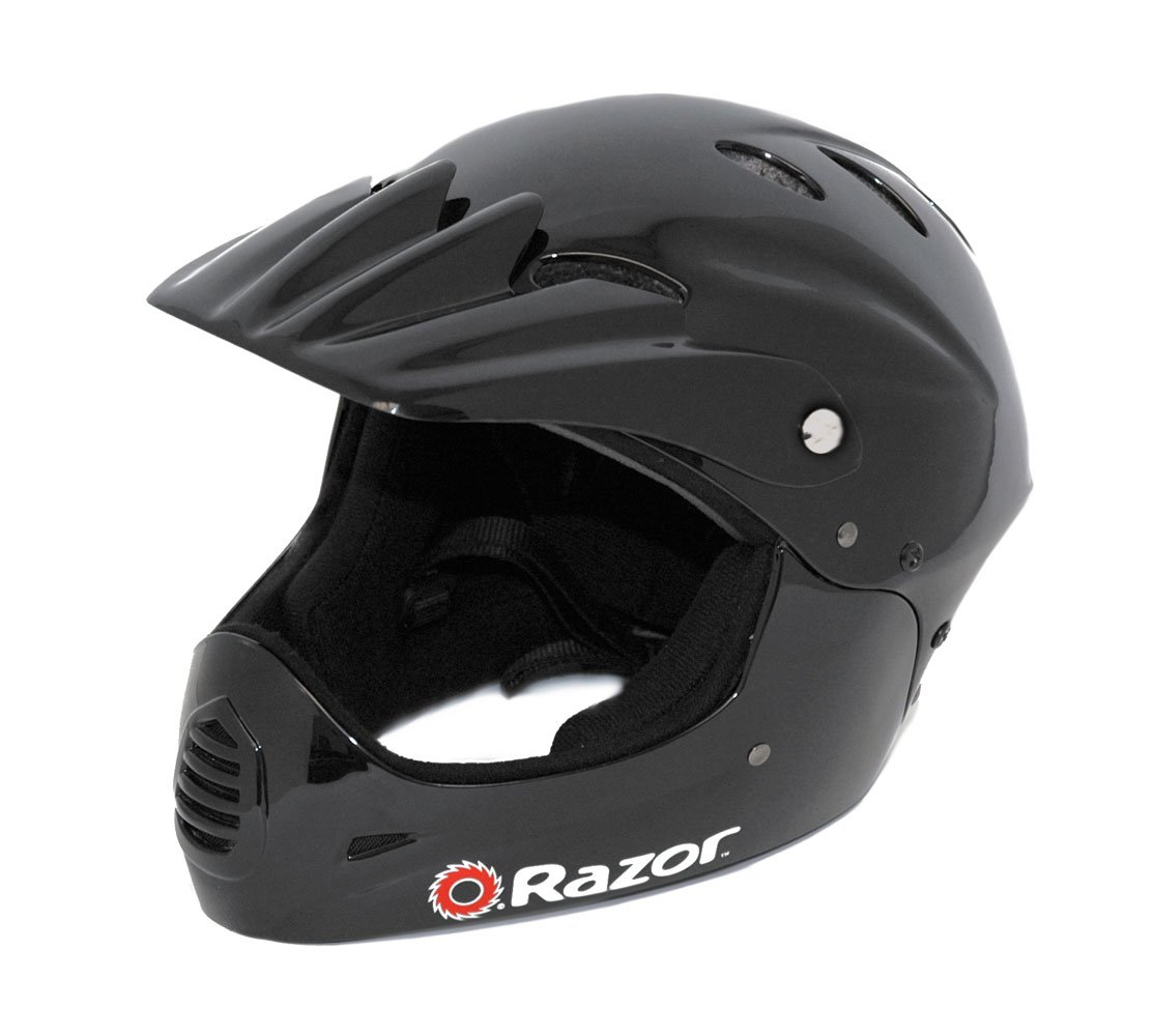 Razor Full Face Youth Helmet, Black by Razor