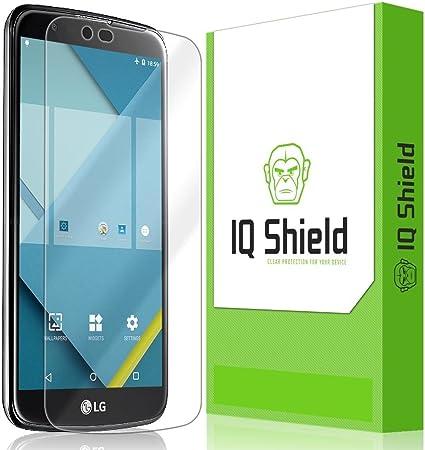 IQ Shield Matte Full Body Skin Compatible with LG K10 5.3 inch + Anti-Glare Screen Protector and Anti-Bubble Film Full Coverage LG Premier LTE