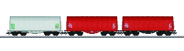 Mauml;rklin 47212 Vagón parte y accesorio de juguet ferroviario - Partes y accesorios de juguetes ferroviarios (Vagón, 15 año(s), 3 pieza(s), Rojo, Blanco, 138 mm)