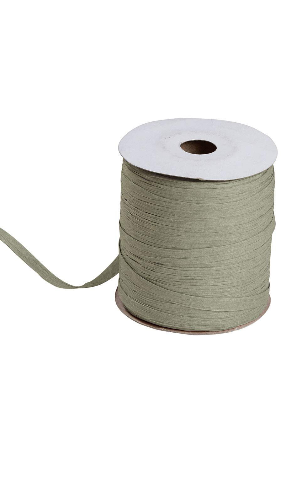 Olive Green Matte Raffia - 1/2''W x 100 Yds. Per Roll - Pack of 2 by SSWBasics
