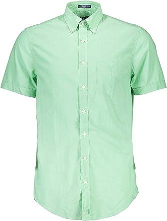 GANT 1601.347301 Camisa con Las Mangas Cortas Hombre: Amazon ...