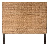 Jeffan International Abaca Weave Headboard, Queen