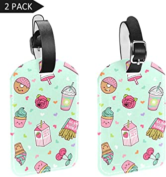 Desert Handbag Tag For Travel Tags Accessories 2 Pack Luggage Tags
