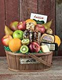 Fruit, Cheese & Nuts Farm Fresh Fruit Gift Basket from Stew Leonard's Gifts