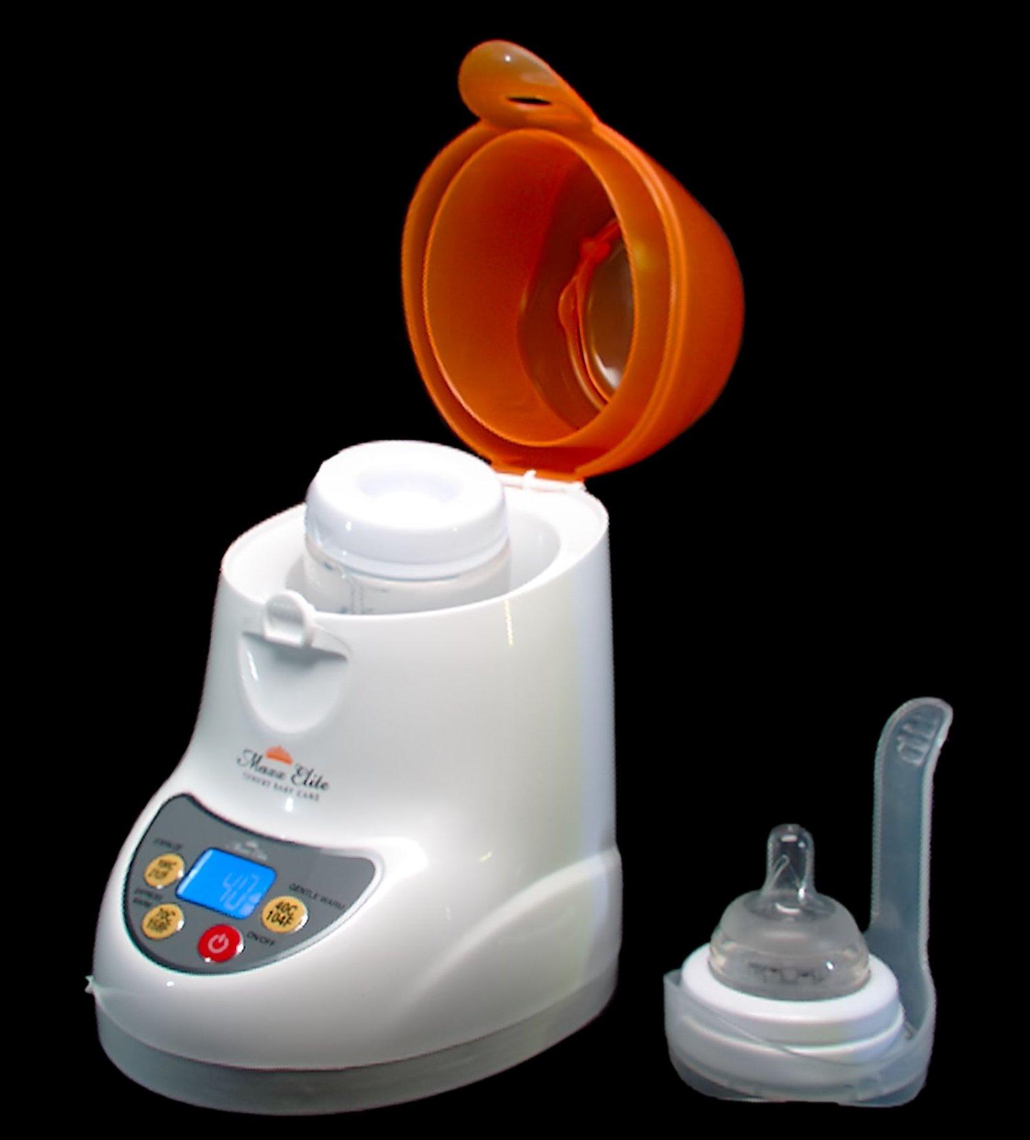 Maxx Elite ''Digital Gentle Warm'' Bottle Warmer & Sterilizer w/''Steady Warm'' and LCD Display (Orange) by Maxx Elite (Image #7)