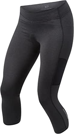Pearl iZUMi W Sugar Thermal Cycling 3Qtr Tights, Black, Large