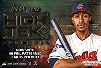 2017 Topps High Tek Baseball Hobby Box 1 Pack of 40 Cards: 2 Autographs, 5 Parallels, 3 Numbered Cards, more