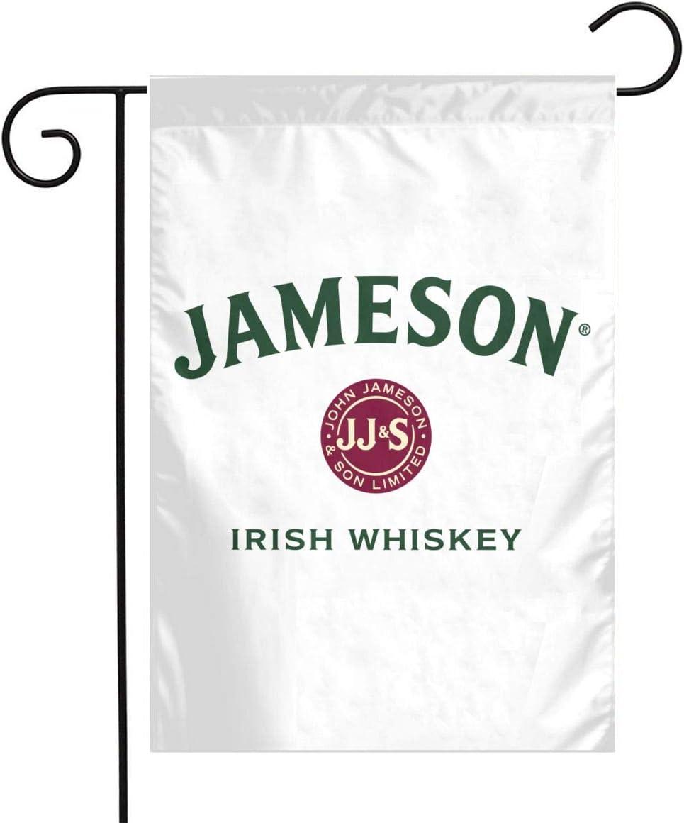 N/C Jameson Irish Whiskey Home Garden Flag 1218 Family Decorative Outside Yard Decoration Outdoor Decor